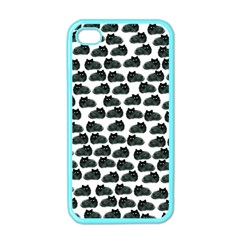 Black Cat Apple Iphone 4 Case (color) by Brittlevirginclothing