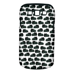 Black Cat Samsung Galaxy S Iii Classic Hardshell Case (pc+silicone) by Brittlevirginclothing
