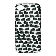 Black Cat Apple Iphone 4/4s Hardshell Case With Stand by Brittlevirginclothing