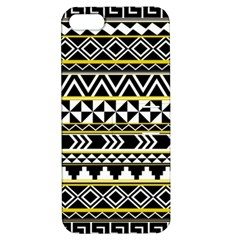 Black Bohemian Apple Iphone 5 Hardshell Case With Stand by Brittlevirginclothing
