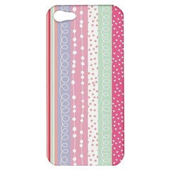 Pastel Colored  Wood Apple Iphone 5 Hardshell Case by Brittlevirginclothing