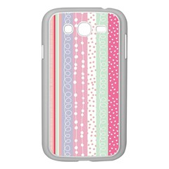 Pastel Colored  Wood Samsung Galaxy Grand Duos I9082 Case (white) by Brittlevirginclothing