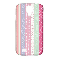 Pastel Colored  Wood Samsung Galaxy S4 Classic Hardshell Case (pc+silicone)