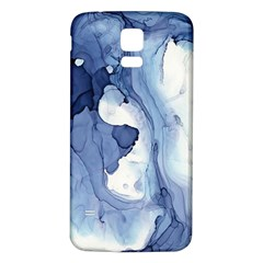 Paint In Water Samsung Galaxy S5 Back Case (white) by Brittlevirginclothing