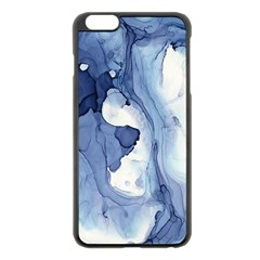 Paint In Water Apple Iphone 6 Plus/6s Plus Black Enamel Case by Brittlevirginclothing