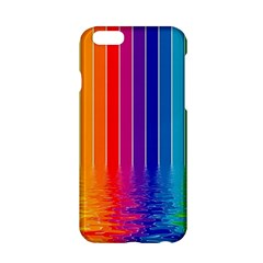 Faded Rainbow Apple Iphone 6/6s Hardshell Case by Brittlevirginclothing