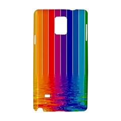 Faded Rainbow Samsung Galaxy Note 4 Hardshell Case by Brittlevirginclothing