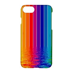 Faded Rainbow Apple Iphone 7 Hardshell Case by Brittlevirginclothing