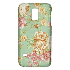 Vintage Pastel Flowers Galaxy S5 Mini by Brittlevirginclothing