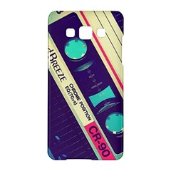 Vintage Casette  Samsung Galaxy A5 Hardshell Case  by Brittlevirginclothing