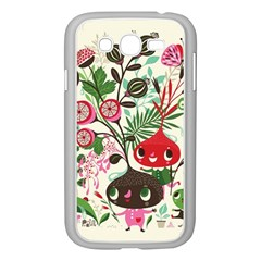 Cute Cartoon Characters Samsung Galaxy Grand Duos I9082 Case (white) by Brittlevirginclothing