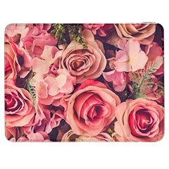 Pink Roses Samsung Galaxy Tab 7  P1000 Flip Case by Brittlevirginclothing
