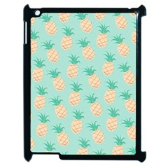 Pineapple Apple Ipad 2 Case (black) by Brittlevirginclothing