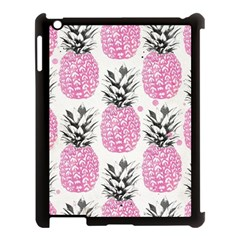 Pink Pineapple Apple Ipad 3/4 Case (black) by Brittlevirginclothing