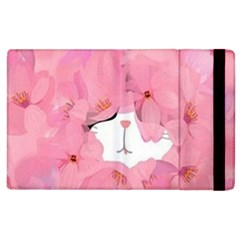 Cute Hidden Kitty Apple Ipad 2 Flip Case by Brittlevirginclothing