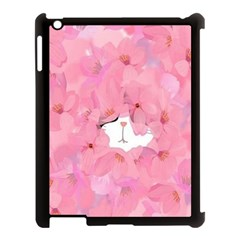 Cute Hidden Kitty Apple Ipad 3/4 Case (black) by Brittlevirginclothing