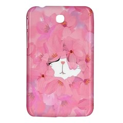 Cute Hidden Kitty Samsung Galaxy Tab 3 (7 ) P3200 Hardshell Case  by Brittlevirginclothing