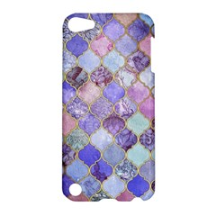 Blue Moroccan Mosaic Apple Ipod Touch 5 Hardshell Case by Brittlevirginclothing