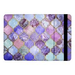 Blue Moroccan Mosaic Samsung Galaxy Tab Pro 10 1  Flip Case by Brittlevirginclothing