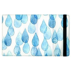 Rain Drops Apple Ipad 3/4 Flip Case by Brittlevirginclothing