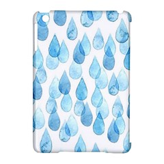 Rain Drops Apple Ipad Mini Hardshell Case (compatible With Smart Cover) by Brittlevirginclothing