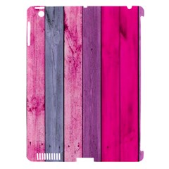 Pink Wood Apple Ipad 3/4 Hardshell Case (compatible With Smart Cover) by Brittlevirginclothing