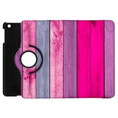 Pink Wood Apple Ipad Mini Flip 360 Case by Brittlevirginclothing