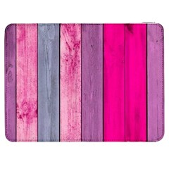 Pink Wood Samsung Galaxy Tab 7  P1000 Flip Case by Brittlevirginclothing