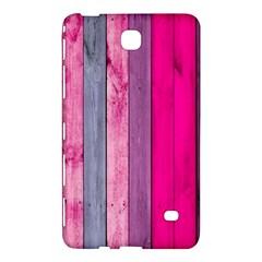 Pink Wood Samsung Galaxy Tab 4 (7 ) Hardshell Case  by Brittlevirginclothing