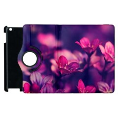 Blurry Flower Apple Ipad 2 Flip 360 Case by Brittlevirginclothing