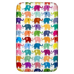 Cute Colorful Elephants Samsung Galaxy Tab 3 (8 ) T3100 Hardshell Case  by Brittlevirginclothing