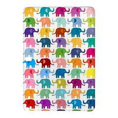 Cute Colorful Elephants Samsung Galaxy Tab Pro 12 2 Hardshell Case by Brittlevirginclothing