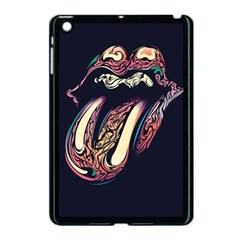 The Rolling Stones Glowing Apple Ipad Mini Case (black) by Brittlevirginclothing