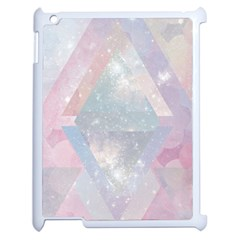 Pastel Crystal Apple Ipad 2 Case (white) by Brittlevirginclothing