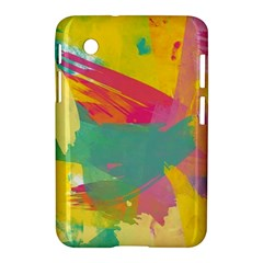 Paint Brush Samsung Galaxy Tab 2 (7 ) P3100 Hardshell Case  by Brittlevirginclothing