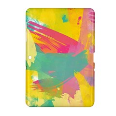 Paint Brush Samsung Galaxy Tab 2 (10 1 ) P5100 Hardshell Case  by Brittlevirginclothing