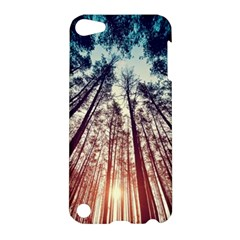 Up View Forest  Apple Ipod Touch 5 Hardshell Case by Brittlevirginclothing