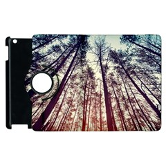 Up View Forest  Apple Ipad 3/4 Flip 360 Case by Brittlevirginclothing