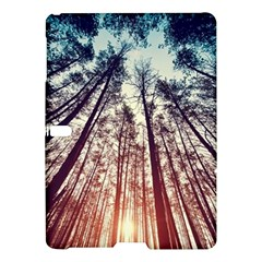 Up View Forest  Samsung Galaxy Tab S (10 5 ) Hardshell Case  by Brittlevirginclothing