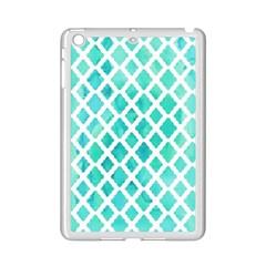Blue Mosaic Ipad Mini 2 Enamel Coated Cases by Brittlevirginclothing