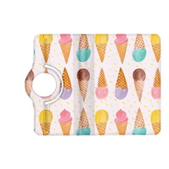 Cute Ice Cream Kindle Fire Hd (2013) Flip 360 Case by Brittlevirginclothing