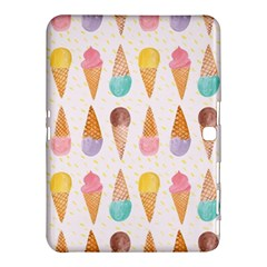 Cute Ice Cream Samsung Galaxy Tab 4 (10 1 ) Hardshell Case  by Brittlevirginclothing