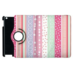 Pink Wood  Apple Ipad 2 Flip 360 Case by Brittlevirginclothing