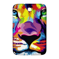 Colorful Lion Samsung Galaxy Note 8 0 N5100 Hardshell Case  by Brittlevirginclothing