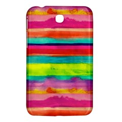 Colorful Wet Paper Samsung Galaxy Tab 3 (7 ) P3200 Hardshell Case  by Brittlevirginclothing