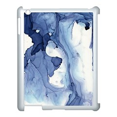 Paint In Water Apple Ipad 3/4 Case (white) by Brittlevirginclothing