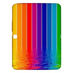 Faded Rainbow Samsung Galaxy Tab 3 (10 1 ) P5200 Hardshell Case  by Brittlevirginclothing