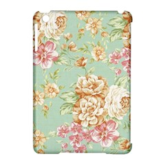 Vintage Pastel Flowers Apple Ipad Mini Hardshell Case (compatible With Smart Cover) by Brittlevirginclothing