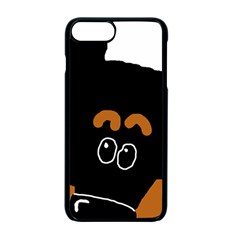 Peeping Miniature Pinscher Apple iPhone 7 Plus Seamless Case (Black)