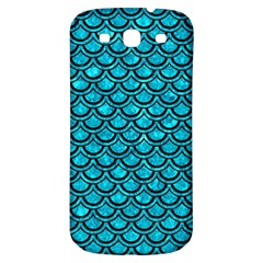 Scales2 Black Marble & Turquoise Marble (r) Samsung Galaxy S3 S Iii Classic Hardshell Back Case by trendistuff